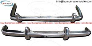 Rolls Royce Silver Shadow bumper in stainless steel 4.jpg