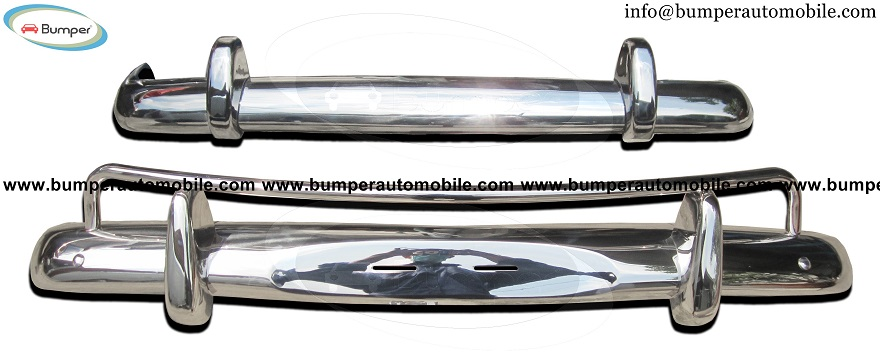 Volvo Amazon USA style bumper (1956-1970) in stainless steel.jpg