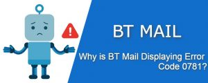 Why is BT mail displaying error code 0781.jpg